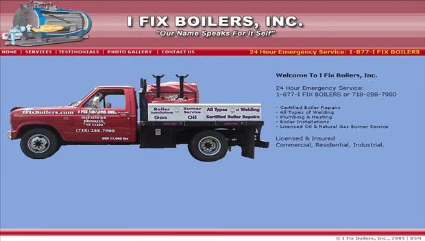 I Fix Boilers, Inc.