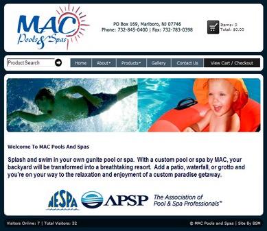 MAC Pools and Spas