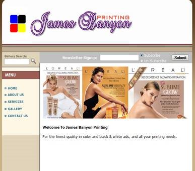 James Banyon Printing, Inc.