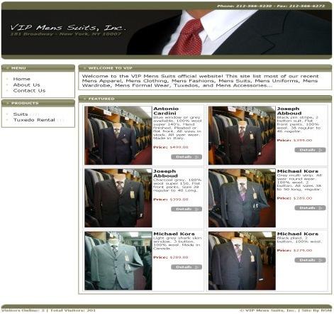 VIP Mens Suits, Inc.