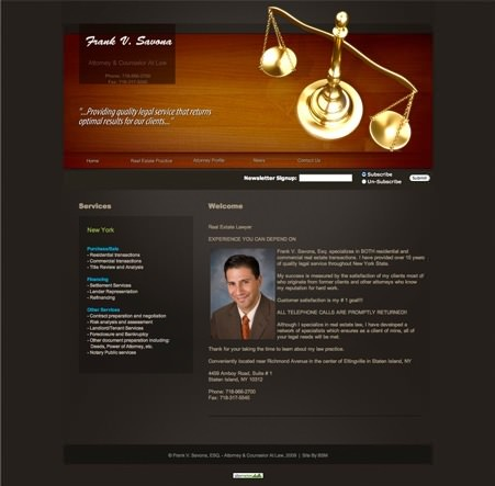 Frank V. Savona, Esq. Attorney and Counselor At Law