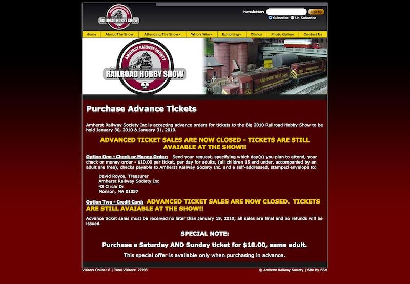 Amherst Railway Society