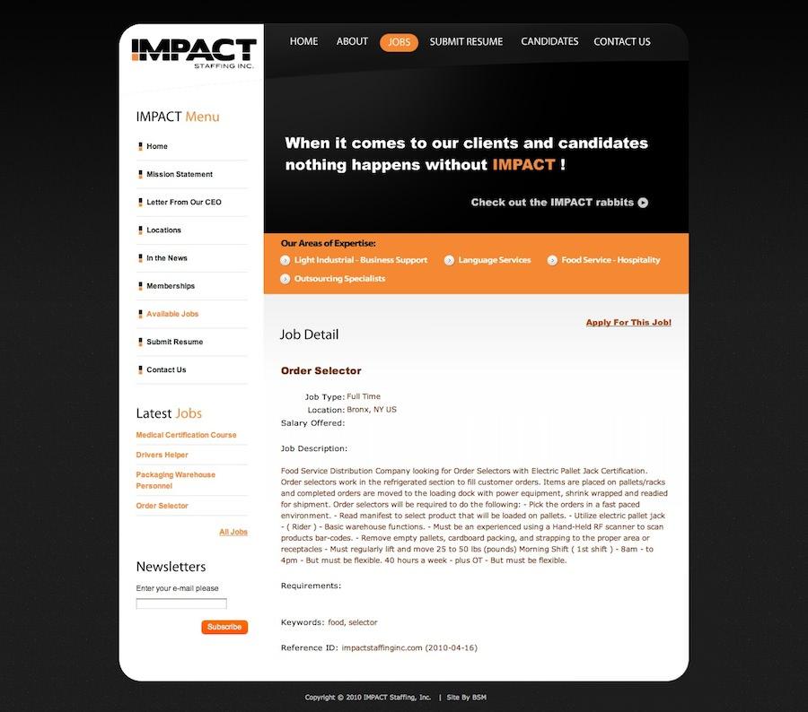 Impact Staffing, Inc.