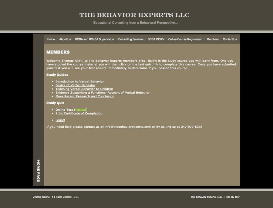 The Behavior Experts, LLC