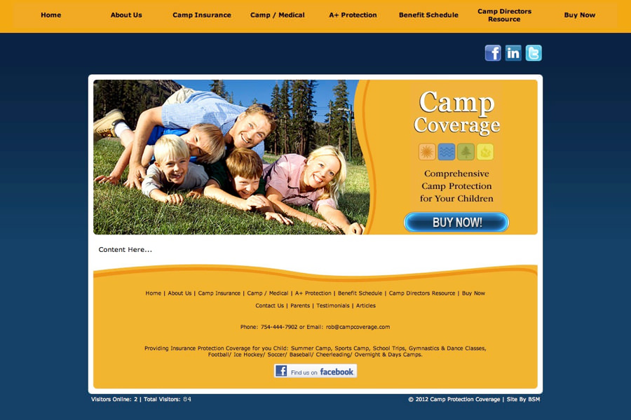Camp Protection Coverage