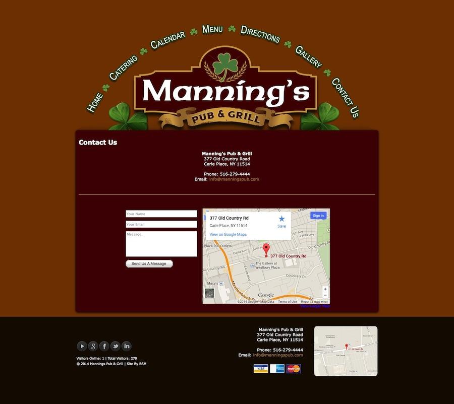 Manning's Pub & Grill