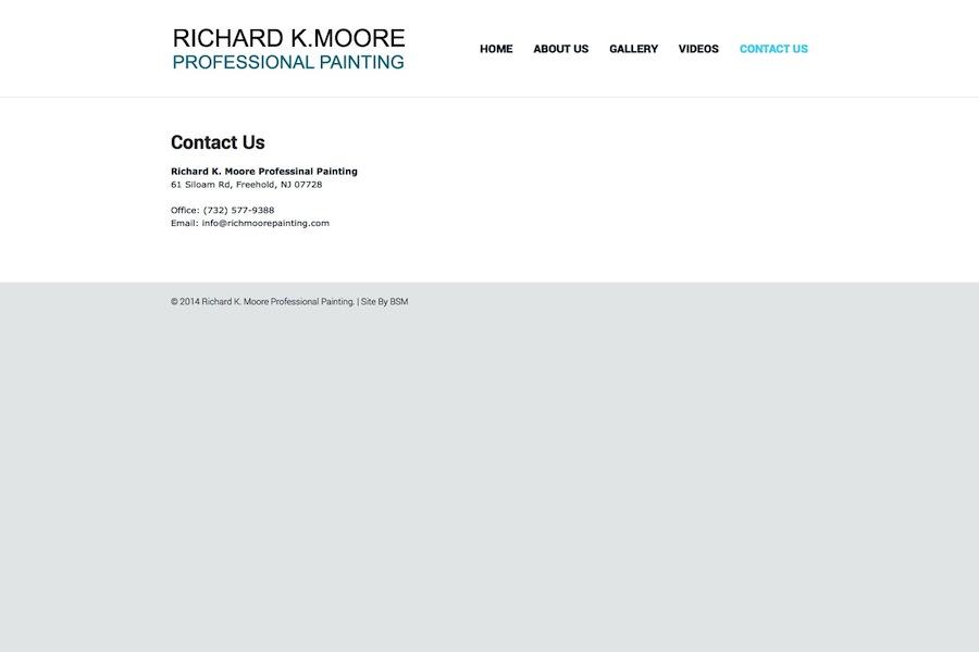 Richard K. Moore Professional Painting