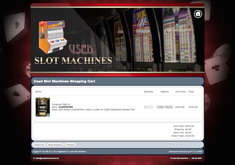 Used Slot Machines