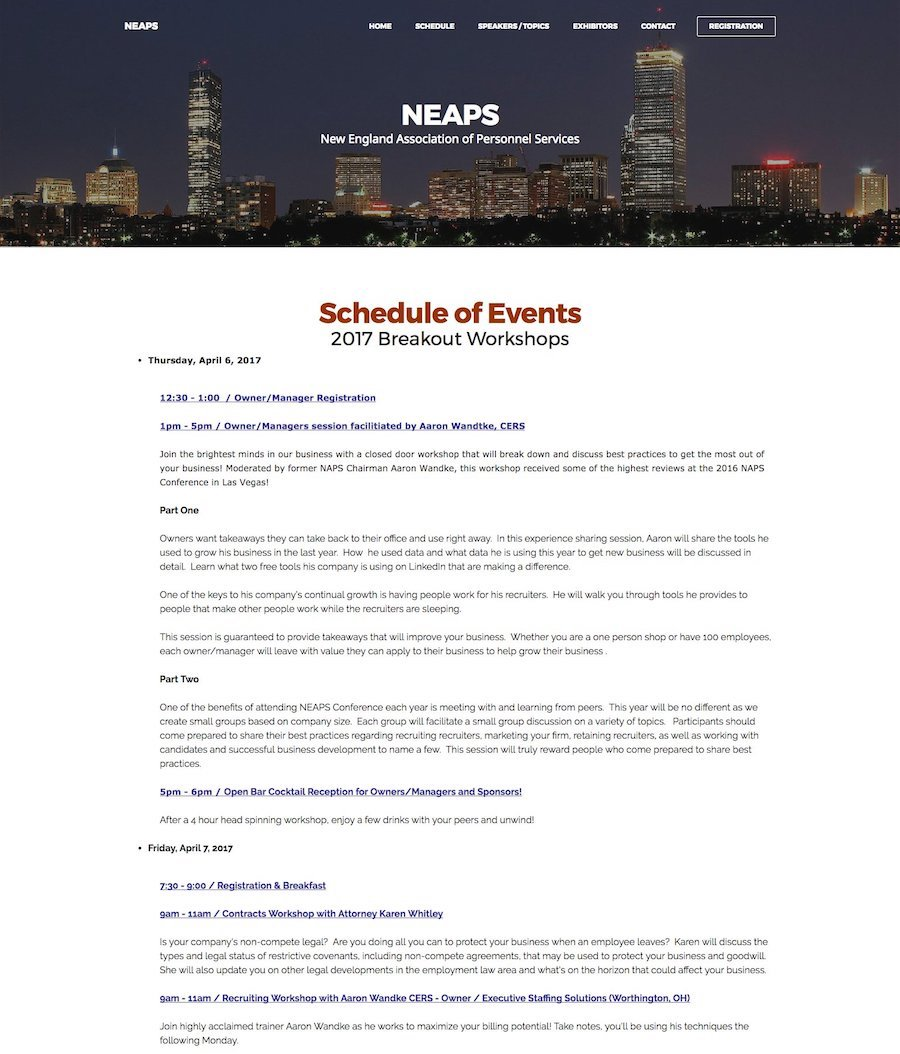 NEAPS (New England Association of Personnel Services)