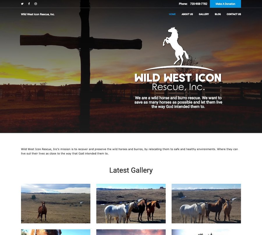 Wild West Icon Rescue, Inc.