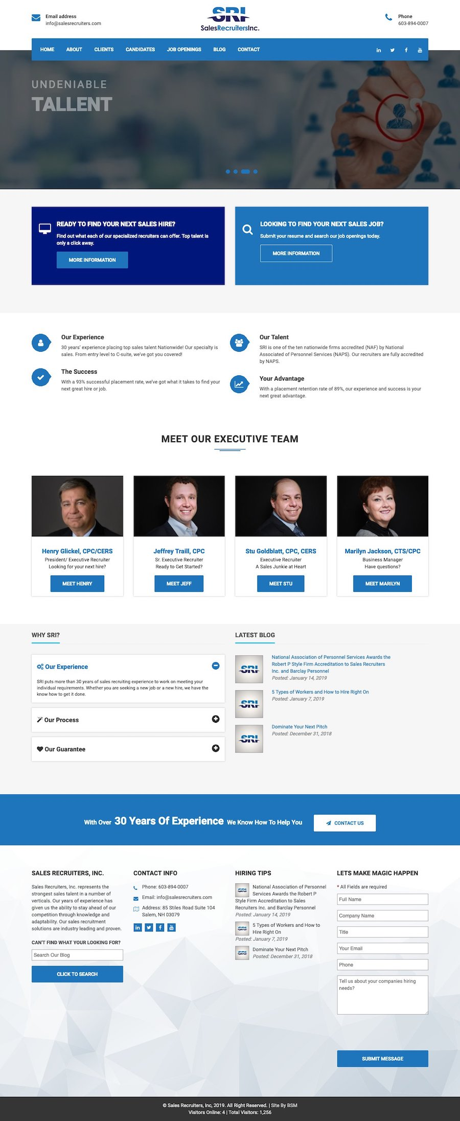 Sales Recruiters, Inc.