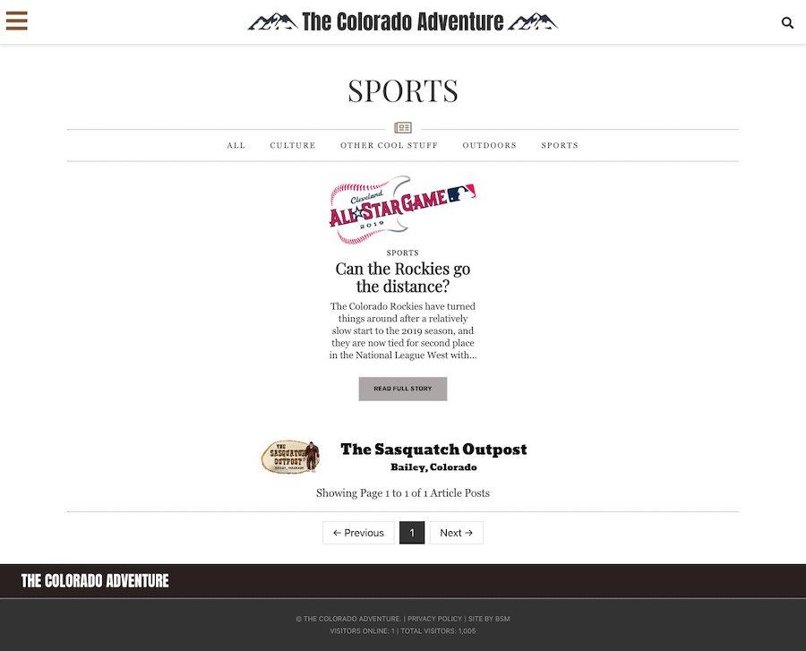 The Colorado Adventure.com