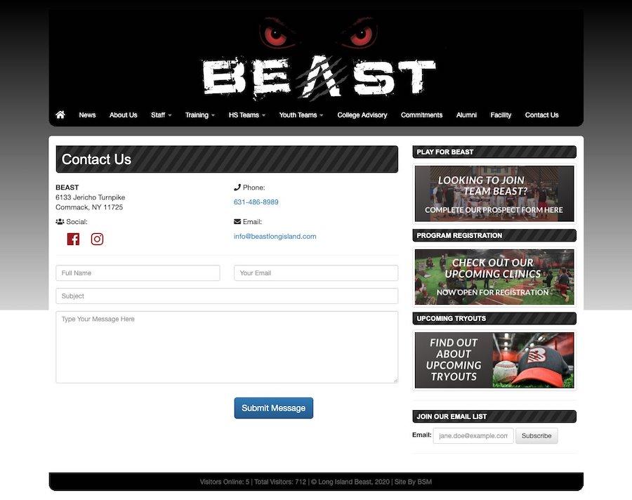 Beast Long Island