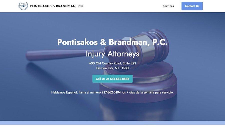Pontisakos & Brandman, P.C.