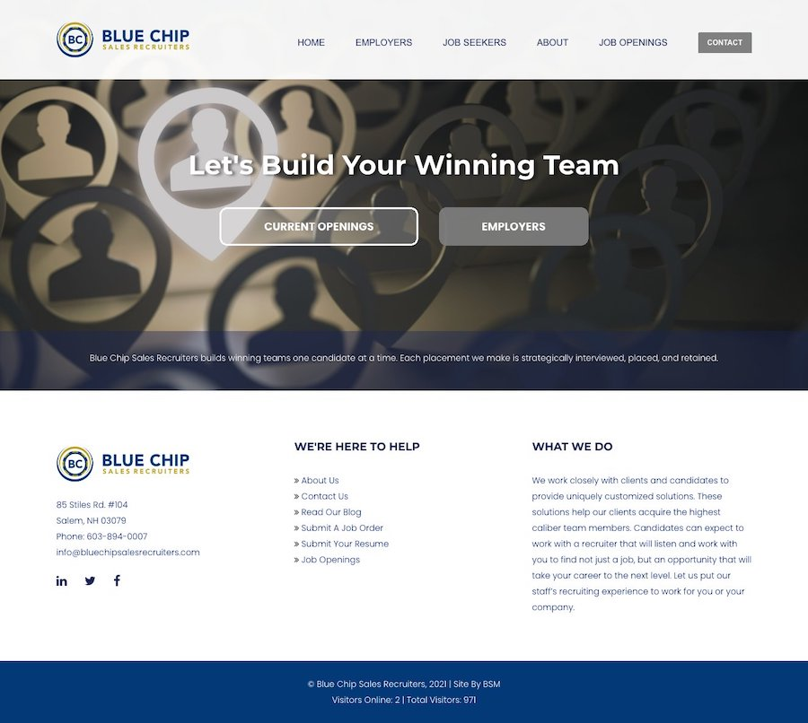 Blue Chip Sales Recruiters
