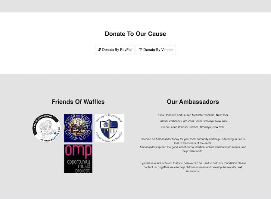 The Waffles Foundation, Inc.