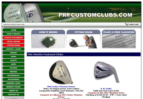 Pro Custom Clubs, Inc.